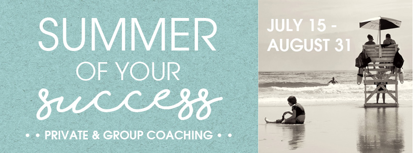 Summer of Your Success Private and Group Coaching